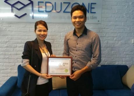Học viện CIA, Philippines thăm và làm việc tại Văn phòng Eduzone