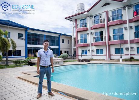 Anh Nguyễn Đăng Hiển - Giám đốc Eduzone thăm và làm việc với trường Philinter