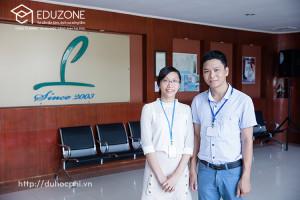 Anh Nguyễn Đăng Hiển - Giám đốc Eduzone thăm và làm việc tại trường Anh ngữ Philinter, Cebu