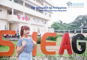 Học viên Thúy Hương của Eduzone theo học chương trình ESL tại trường Anh ngữ SMEAG, Philippines.