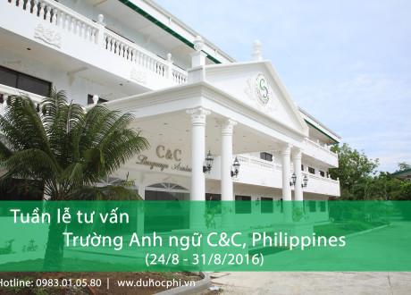Tuần lễ tư vấn học tiếng Anh tại trường CNC, Philippines