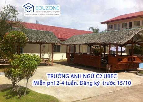 Eduzone tặng 2-4 tuần học tiếng Anh miễn phí tại học viện Anh ngữ C2 UBEC