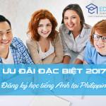 Học tiếng Anh Philippines 2017: Chương trình ưu đãi mới nhất của Eduzone