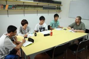 Lớp học nhóm