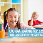 Ưu đãi đặc biệt đăng ký sớm du học hè Philippines 2017