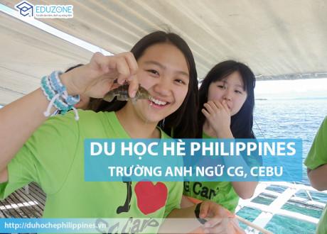 Du học hè Philippines 2017 – Trường Anh ngữ CG, Cebu