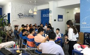 Eduzone tổ chức buổi gặp đoàn du học hè Philippines đợt 1 năm 2017