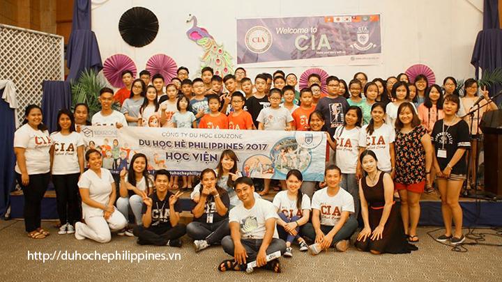 Hình ảnh đoàn học hè Philippines trường CIA đợt 1 (khởi hành 4/6/2017)
