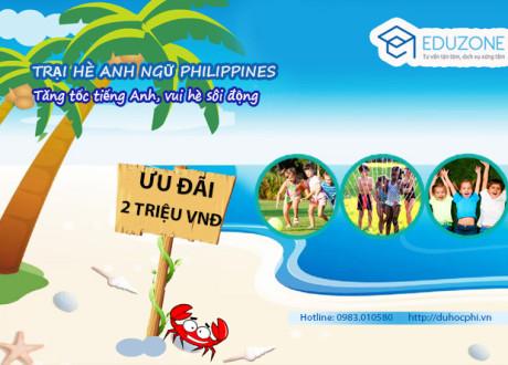 Chương trình du học hè Philippines 2016 cùng Eduzone và trường CIA