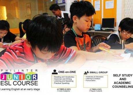 Khóa Tiếng Anh thiếu nhi (Junior ESL) – Trường Anh ngữ Philinter