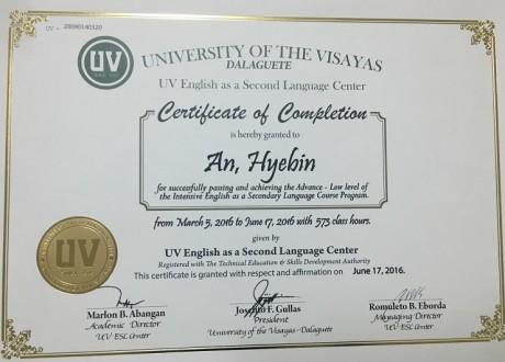 Chương trình University Sit – in tại trường UV ESL