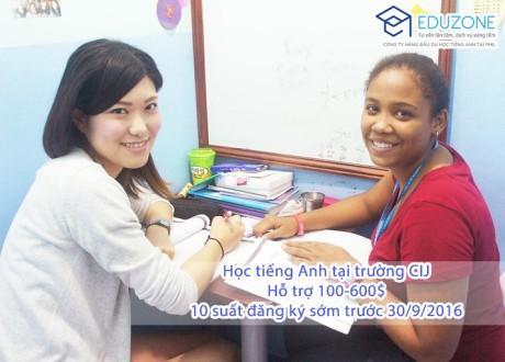 Chương trình ưu đãi khi học tiếng Anh tại Trường CIJ, Philippines