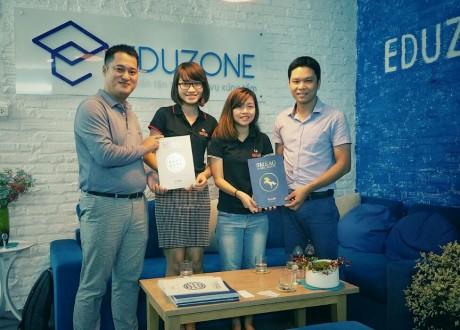 Chủ tịch trường Anh ngữ SMEAG Philippines thăm và làm việc tại Eduzone