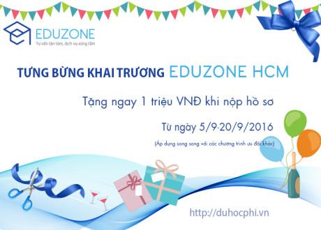 Học tiếng Anh tại Philippines, tặng ngay 1 triệu đồng nhân dịp khai trương Eduzone HCM