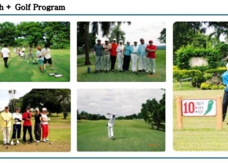 Khóa học English + Golf tại E&G