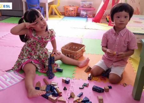 Khóa học Tiếng Anh Mẫu giáo – Trường Anh ngữ Cebu ESL
