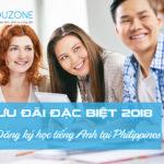 Cập nhật chương trình ưu đãi học tiếng Anh ở Philippines 2018