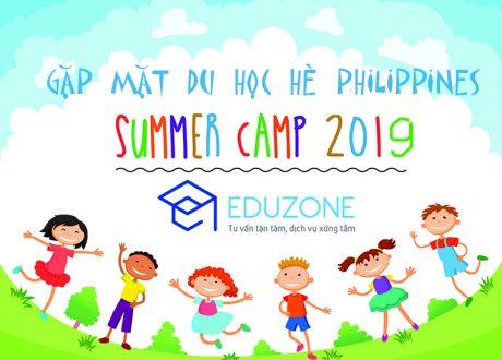 Lịch gặp mặt đoàn Du học hè Philippines 2019 của Công ty Du học Eduzone